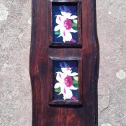 Large reclaimed teak photo frame