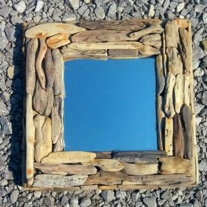 Square driftwood mirror (1)