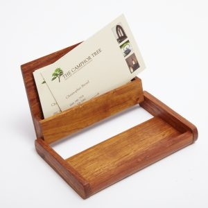 business card case - open