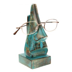 Blue nose spectacle holder