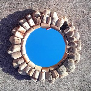driftwood circle mirror 2