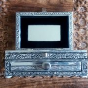 Small silver kewellery box