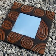 Fairtrade abstract mirror tan