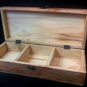 Wooden tea chest