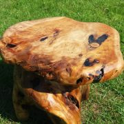 root wood stool 2
