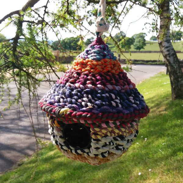 Recycled bird house 2
